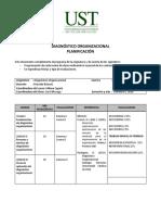 1-2018 Plan de Clases Diagnostico Organizacional