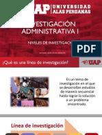 01 Investigación administrativa - Niveles de investigación.pdf