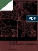 Brasil Urbanização e Fronteiras