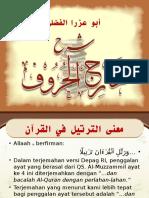 003 Pengantar Makhraj
