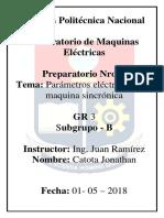 Preparatorio 1 Maquinas Electricas