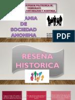 Diapositivas Sociedad Anonima