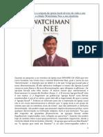 A verdade sobre a origem da igreja local árvore da vida e seu fundador o chinês Watchman Nee e sua doutrina.pdf