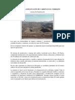 Etapas de La Explotación de Carbón en El Cerrejón