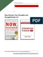 Strengths Finder Book Summary