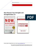 Strengths Finder Book Summary