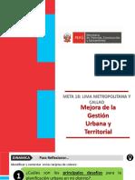 Exposicion Lima Metropolitana Callao Plan Urbano