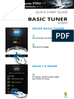 Drumtune Pro 2.0 tutorial ingles