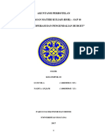 Budget Operasi Dan Pengendalian Budget