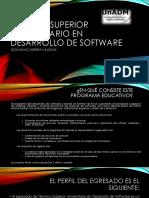 Técnico Superior Universitario en Desarrollo de Software