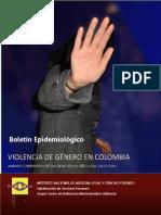 Violencia de Género en Colombia. Análisis Comparativo de Las Cifras de Los Años 2014, 2015 y 2016
