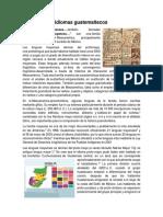Raíces de Los Idiomas Guatemaltecos