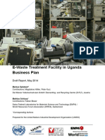 E-Waste Treatment Facility in Uganda Business Plan