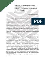 Patrimonialismo e a Formação Do Estado Brasileiro - Daniel Barile Da Silveira