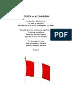 Poesía a Mi Bandera