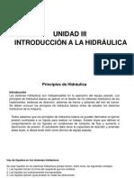 Unidad III Hidraulica y Neumatica