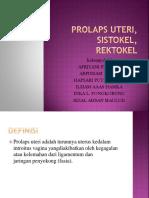 19. b. Dr Joseph-Prolaps Uteri, Sistokel, Rektokel