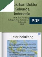 Pendidikan Dokter Keluarga Indonesia