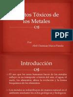 Efectos Tóxicos de los Metales.pptx