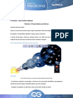 Aula 2 - FM - Quimica - Roberto Mazzei - Tabelas e Propriedades Periodicas
