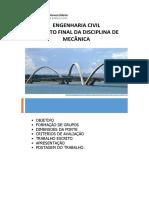 ENGENHARIA CIVIL Ponte Projeto Final