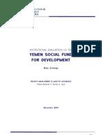 DFID_Yemen SFD Institutional Evaluation