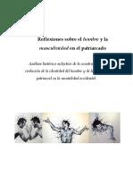 Reflexiones Sobre El Hombre y La Masculinidad en El Patriarcado