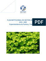 Plan Institucional Gestion Ambiental