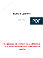 Lecture 03 Human Comfort