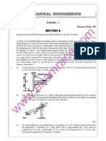 IAS Mains Mechanical Engineering 1993