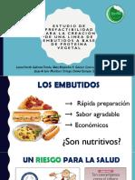 Embutidos a Base de Proteina Vegetal