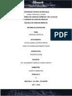 Cirrosis Hepatica Informe Final