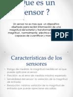 Sensor Electrico