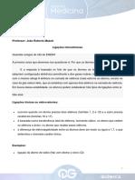 Aula 3 - F.M. - Quimica - Roberto Mazzei - Ligacoes Interatomicas