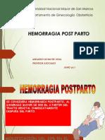 Clase 5 Hemorragia PostParto_ Shock Obst