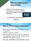 The Nature of Curriculum Evaluation