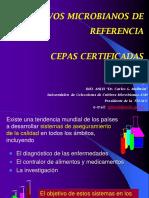 Cepas Ref Certificadas