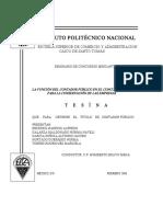 138_LA Funcion Del Contador Publico en El Concurso Mercantil Para La Conservacion de Las Empresas