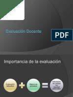 evaluacion docente