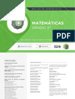Matematicas Grado 5