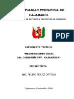 Memoria Descriptiva - Comisaría II