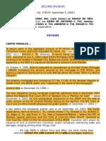 7. Equitable PCI Bank, Inc. v. Heirs of Tiu, G.R. No. 178529, [September 4, 2009], 614 PHIL 606-612)