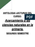 Antologia de Ciencias,Segundo Semestre