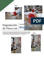 Degustación de Vinos Con Helado