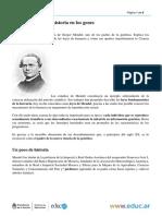 Gregor Mendel La Historia en Los Genes