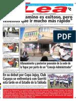 Periódico Lea Jueves 7 de Junio Del 2018