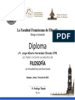 Diploma Beto