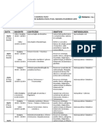Cronograma FMJ 2018-1