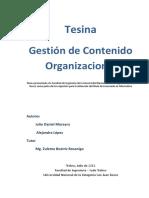 Gestion de Contenido Organizacional