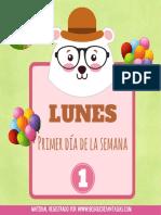 PDF Dias de La Semana